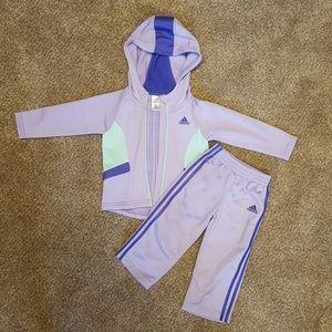 Toddler Girls Adidas Outfit